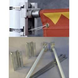 WindBreaker Bracket Hardware