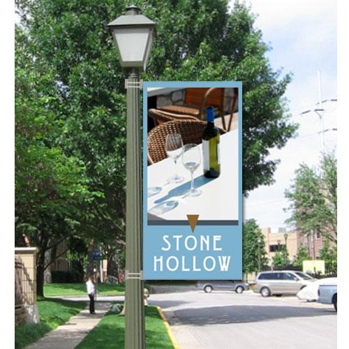 Small Custom Boulevard Banner