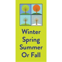 Seasons Change Pole Banner
