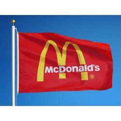 3' x 5' Custom Logo Flag