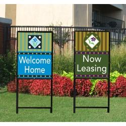 Vertical Sign Frame
