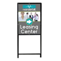 Vertical Sign Frame