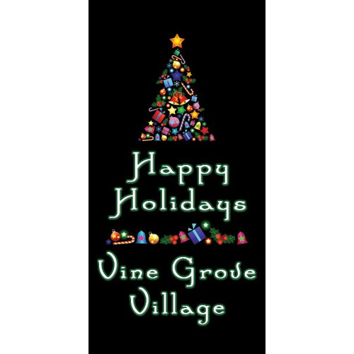 Christmas Tree Boulevard Banner