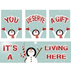 Snowman Joy Campaign