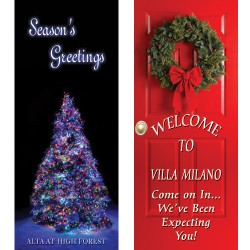 Holiday Display Banners