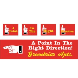 Point In The Right Direction Campaign