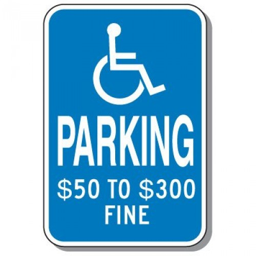 Missouri Handicap Sign