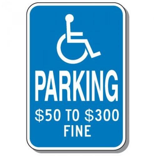 missouri handicap sign
