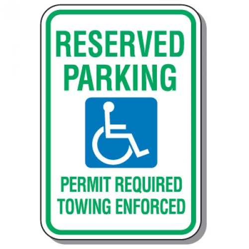 Arkansas Handicap Sign