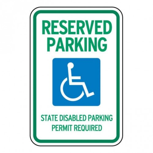 Washington Handicap Sign