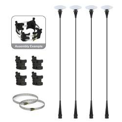 DuraBalloon Light Pole Kit 4 Pack