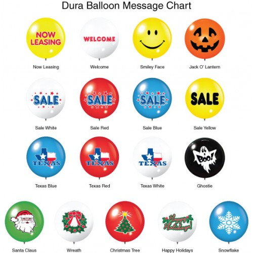 Message DuraBalloons