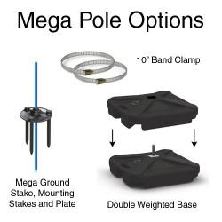 Mega  Pole Kit
