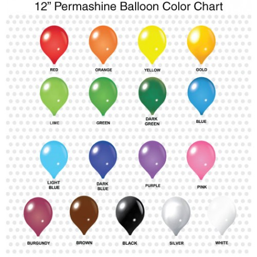 12 Inch Permashine Balloon