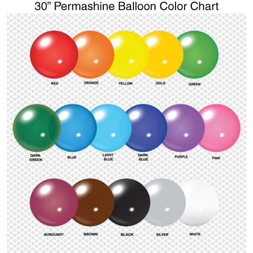 30 Inch Permashine Balloon