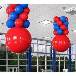 Balloon Columns and Tower