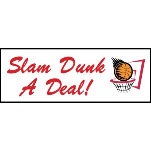 Slam Dunk Banner
