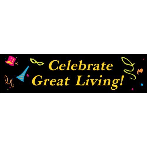 Celebrate Great Living Banner