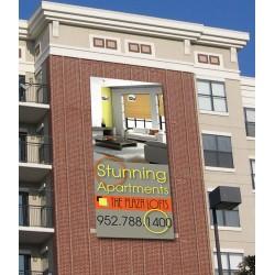 Custom Vertical Banner