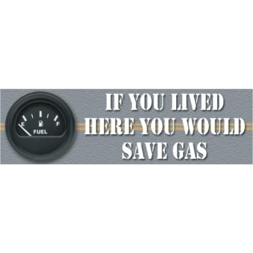 Save Gas Banner