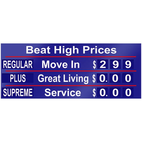 Beat High Prices Banner