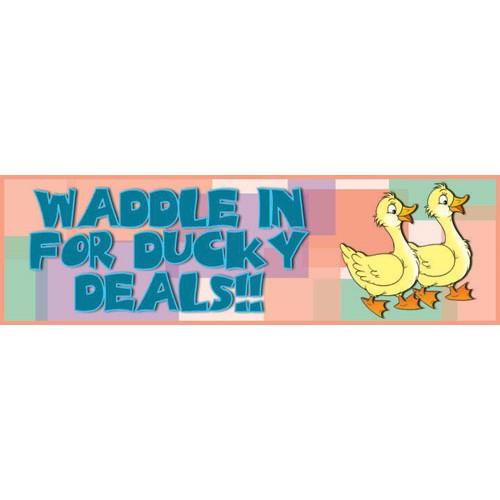 Ducky Banner