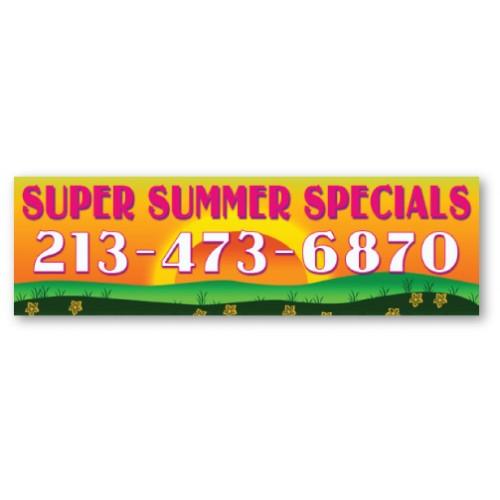 Super Summer Banner