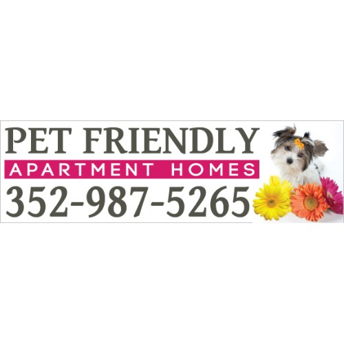 Pet Friendly Banner