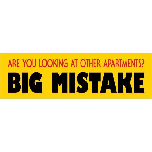 Big Mistake Banner