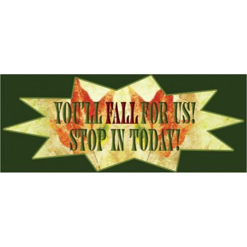 Starburst Fall Banner