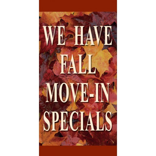 Fall Leaves Boulevard Banner