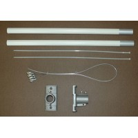Double 18 Inch Banner Hardware Set