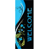 Windsong Blue Right Banner