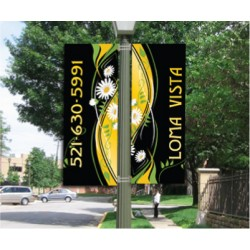 Windsong Yellow Right Banner