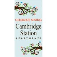 Celebrate Spring Pole Banner