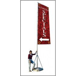 Giant Boulevard Banner Display