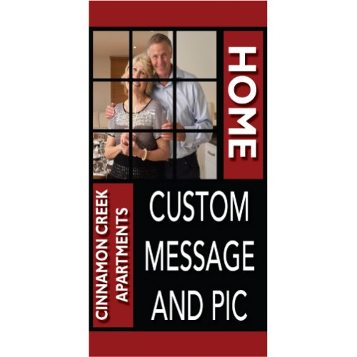 HomeLife Custom Pole Banner