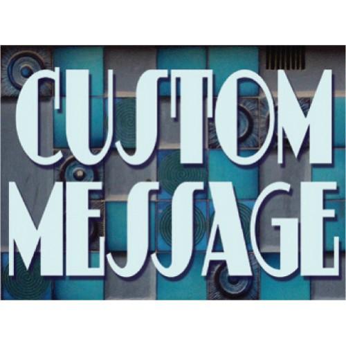 Agave Azul Bootleg Signs
