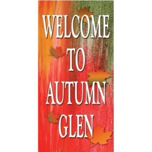 Amazing Autumn Boulevard Banner