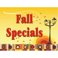 Beautiful Fall Lantern Sign