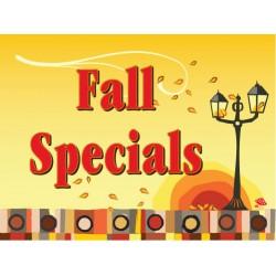 Beautiful Fall Lantern Sign