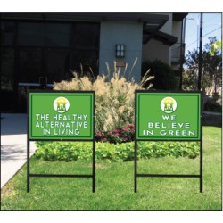 Eco Friendly Choice Sign