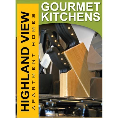 Lifestyle Gourmet Kitchen Sign