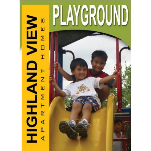 Lifestyle Playground Sign
