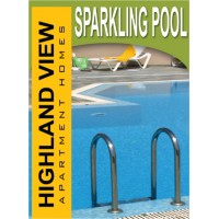 Lifestyle Sparkling Pool Sign