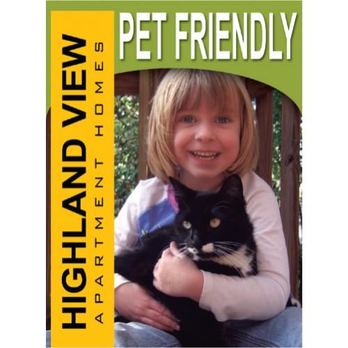 Lifestyle Pet Friendly Sign