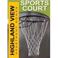 Lifestyle Sports Court Sign
