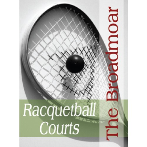 People Racquetball Sign