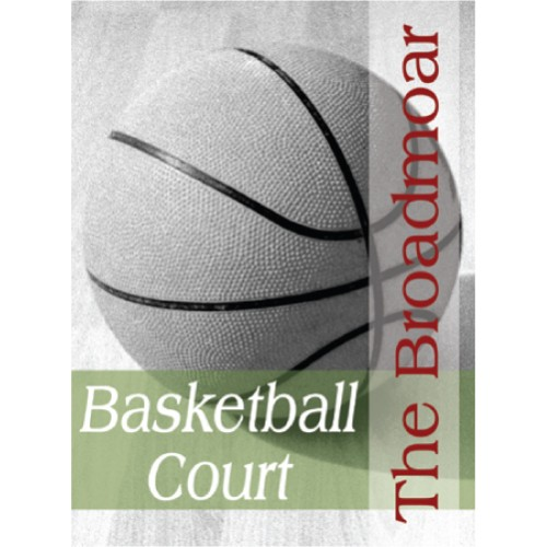 People Basketball Sign