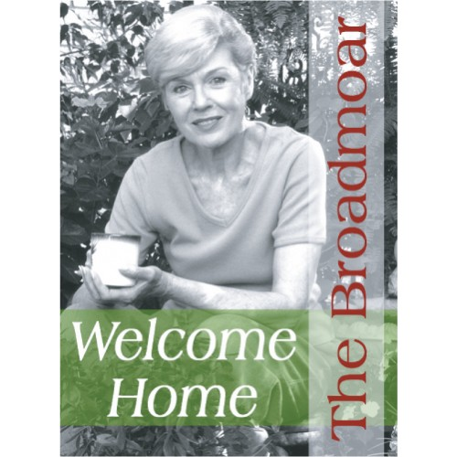 People Welcome Home Sign